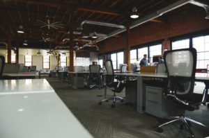 Image of an empty office.