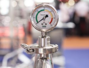 Image of a pressure gage.