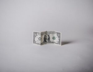 photo of a dollar to represent ignore a restraining notice.