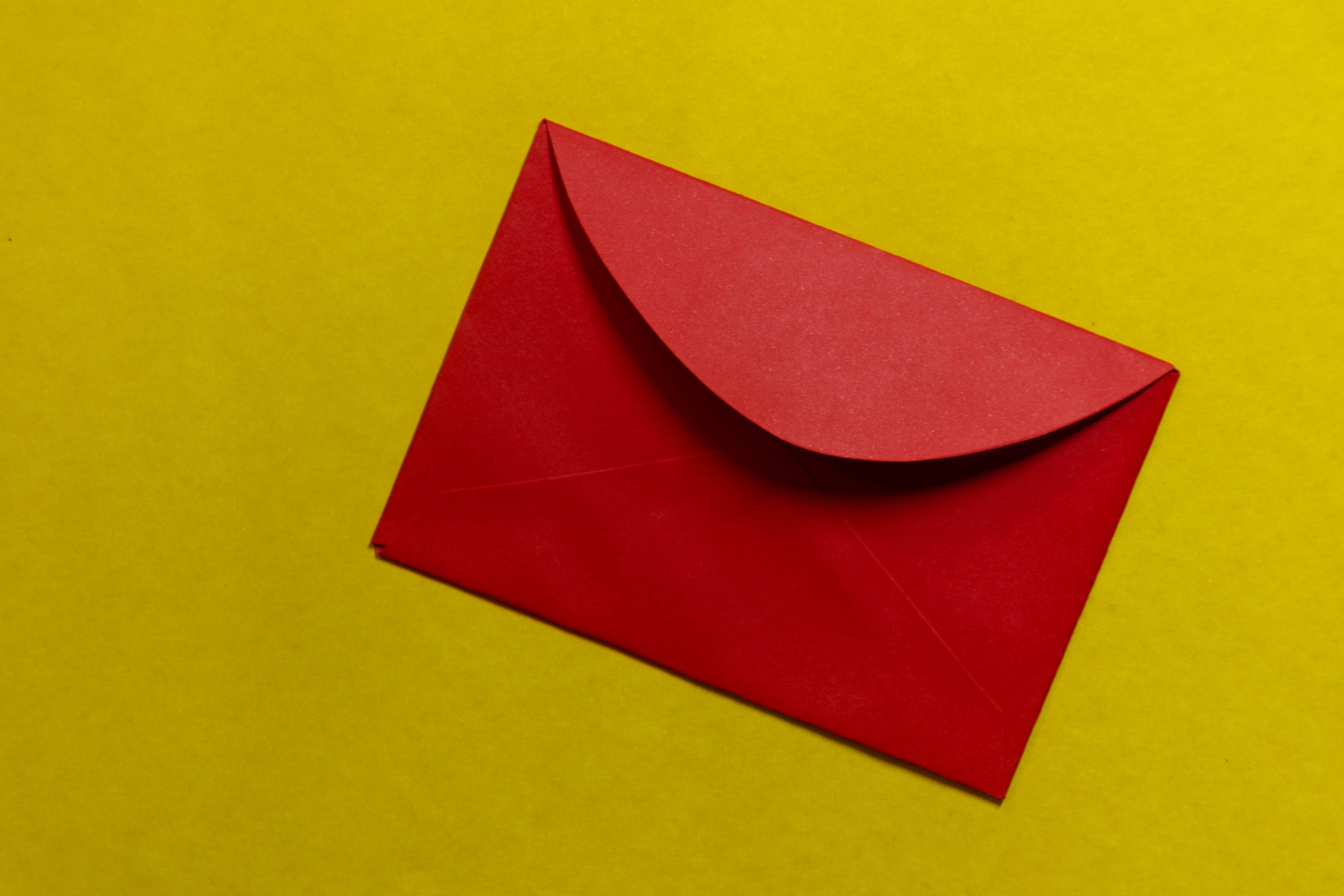 image of a red letter to represent Information Subpoena Restraining Notice